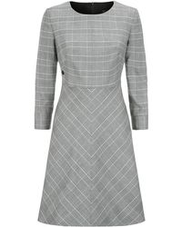 Armani Jeans - Prince Of Wales Check Dress - Lyst