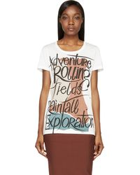 Burberry Prorsum White Adventure T_shirt - Lyst