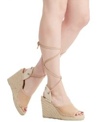 DV by Dolce Vita Between Me And Jute Wedge brown - Lyst