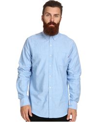 Obey Quality Dissent Ls Woven - Lyst