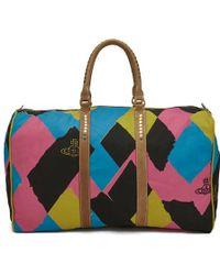 Vivienne Westwood - Women's Argyle Weekender Bag - Lyst