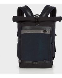 Paul Smith | 531 Navy And Black Backpack | Lyst