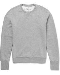 Orlebar Brown Dudley Loopback Cottonjersey Sweatshirt - Lyst
