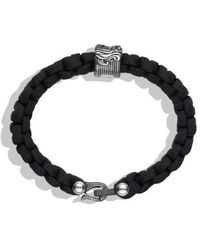 David Yurman Black Waves Bracelet - Lyst