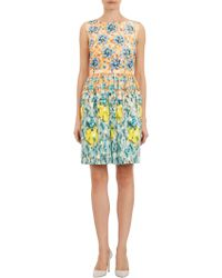 Mary Katrantzou Orange Juli Dress - Lyst
