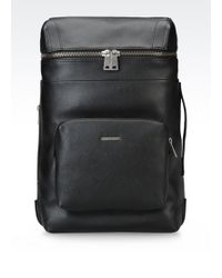 Armani Jeans - Backpack In Faux Leather - Lyst