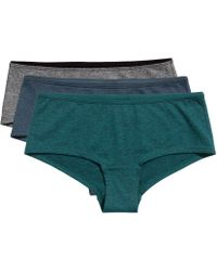 H&M 3-pack Cotton Hipster Briefs - Lyst