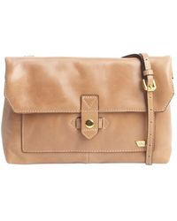 IIIBeCa by Joy Gryson Khaki Leather Crossbody Bag - Lyst