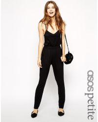Asos Exclusive Strappy Jumpsuit - Lyst