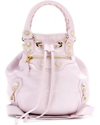 f442297dfd4e Classic Mini Pompon Leather Shoulder Bag ... Info Inject pretty pastel hues  into your accessories collection with this rose-colored Classic Mini ...