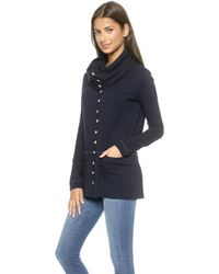 The Lady & The Sailor Funnel Jacket - Navy - Lyst