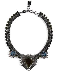 BCBGMAXAZRIA | Statement Stone Evening Necklace | Lyst