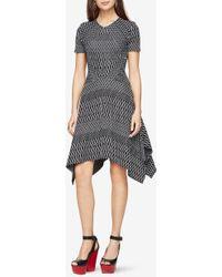 BCBGMAXAZRIA - Bcbg Arsley Deco-knit Dress - Lyst
