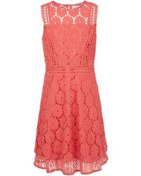 BCBGMAXAZRIA - Bcbg Multi-lace Overlay Dress - Toddler - Lyst