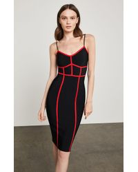 BCBGMAXAZRIA - Bcbg Strappy Bodycon Dress - Lyst
