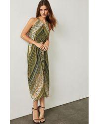 BCBGMAXAZRIA - Marrakesh Stripe Handkerchief Dress - Lyst