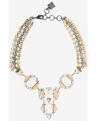 BCBGMAXAZRIA - Deco Stone Necklace - Lyst