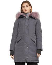 BCBGMAXAZRIA   Reese Down-filled Fur-hooded Parka   Lyst