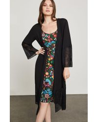 BCBGMAXAZRIA - Lace Robe Jacket - Lyst