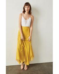 BCBGMAXAZRIA - Bcbg Amalli Ruffle Maxi Skirt - Lyst