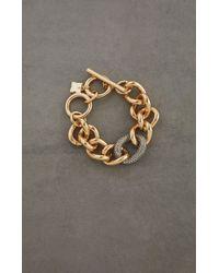 BCBGMAXAZRIA - Bcbg Pave Link Bracelet - Lyst