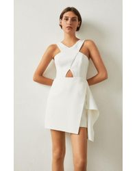 BCBGMAXAZRIA - Qyun Cutout Dress - Lyst