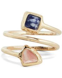 BCBGMAXAZRIA - Natural Stone Ring - Lyst