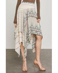 BCBGMAXAZRIA - Bronwyn Asymmetrical Skirt - Lyst