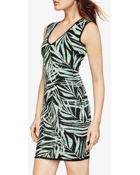 BCBGMAXAZRIA - Gari Palms Knit Jacquard Dress - Lyst