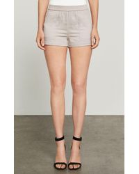 BCBGMAXAZRIA - Bcbg Larsen Patch-pocket Utility Short - Lyst