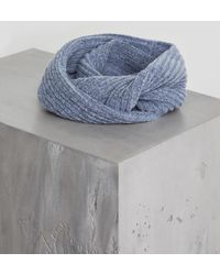 BCBGeneration - Heathered Brushed Loop Scarf - Lyst