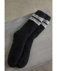 BCBGeneration - Marled Stripe Crew Socks - Lyst
