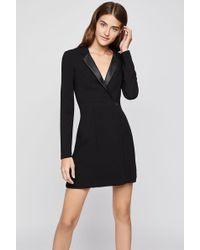 BCBGeneration - Mixed Media Blazer Dress - Lyst