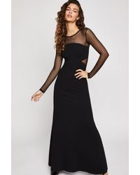 BCBGeneration - Illusion Maxi Dress - Lyst