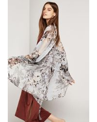 BCBGeneration - Tropical Floral Cover-up - Lyst