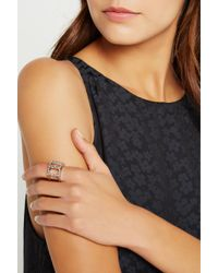 BCBGeneration - Hands Wide Pave Ring - Lyst