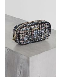 BCBGeneration - Autumn Multicolor Tweed Camera Pouch - Lyst