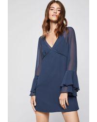 BCBGeneration - Ruffle-sleeve A-line Dress - Lyst