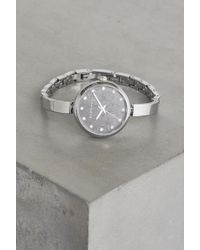 BCBGeneration - Silver-tone Cuff Watch - Lyst