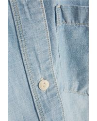 Madewell - Perfect Chambray Shirt - Lyst
