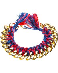 Aurelie Bidermann 'Do Brasil' Bracelet - Lyst