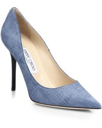 Jimmy Choo | Abel Denim Pumps | Lyst