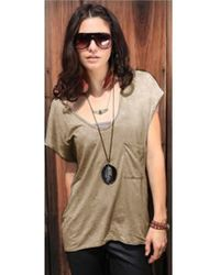Chaser High Low Pocket Tee - Lyst