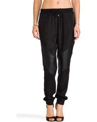 Suboo The Abbey Track Pant in Black - Lyst