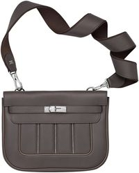 cheap hermes handbags - Herm��s Soie Cool in Multicolor (Mykonos blue/white)   Lyst