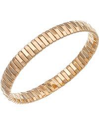 Chimento - 18k Rose Gold Armillas Collection Ridge Line Bracelet - Lyst