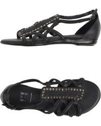 Strategia Gray Sandals - Lyst