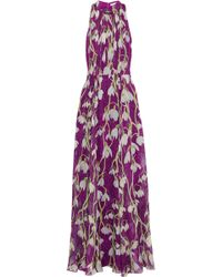 Matthew Williamson Printed Silk-Chiffon Gown - Lyst