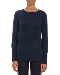 Barneys New York Mixed Stripe Sweater - Lyst