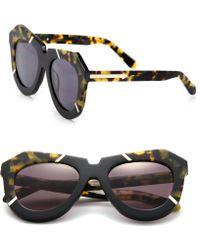 Karen Walker | Poolside 51mm Plastic Cat's-eye Sunglasses | Lyst